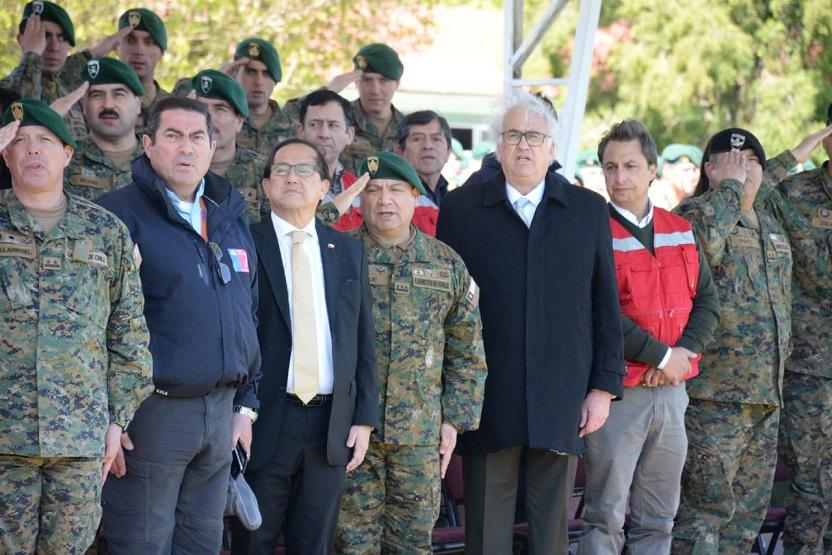 CONAF capacita a personal del Ejército en prevención y combate de incendios forestales