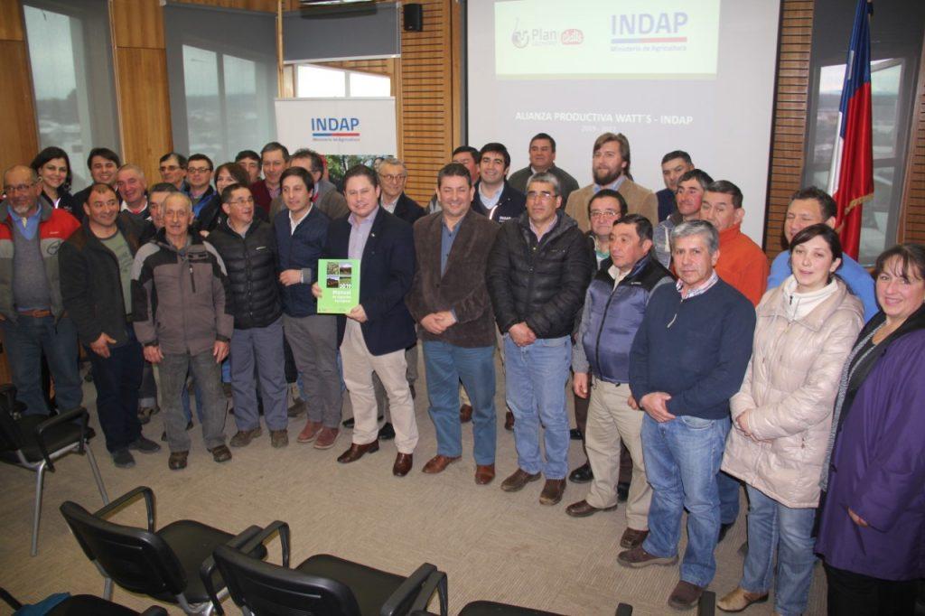 INDAP y Watts firman convenio de Alianza Productivas para potenciar a lecheros  hasta el 2022